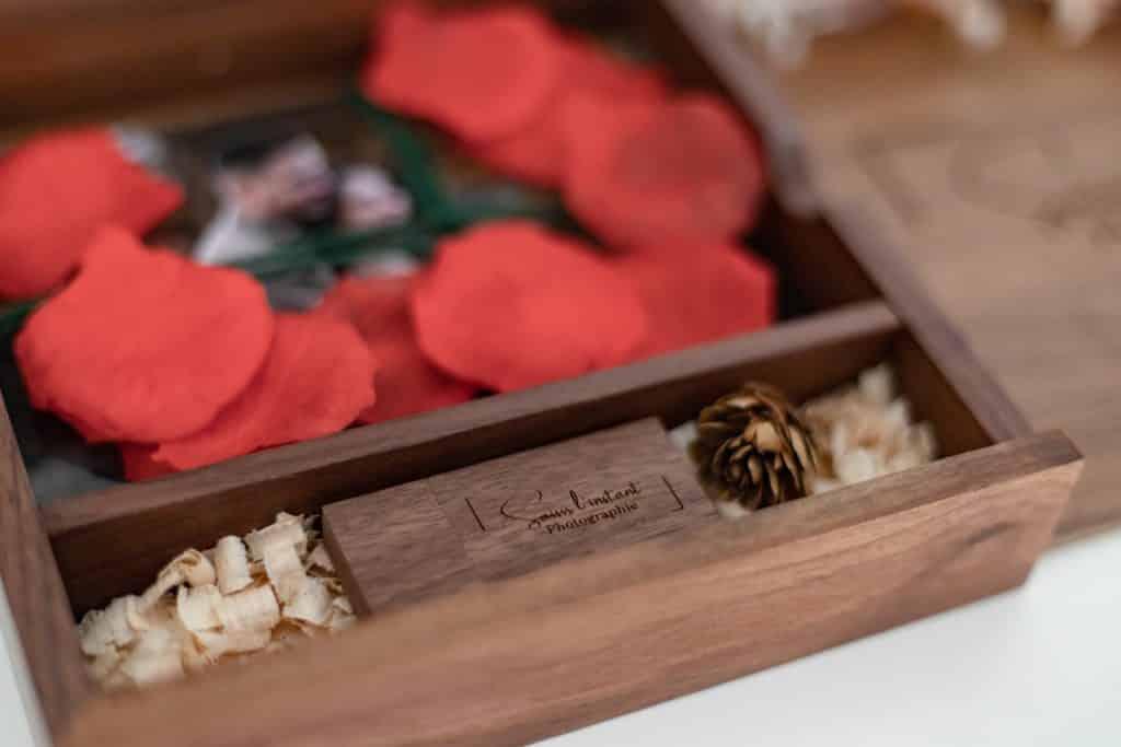 photographe boite bois - une boite en bois pour tirages