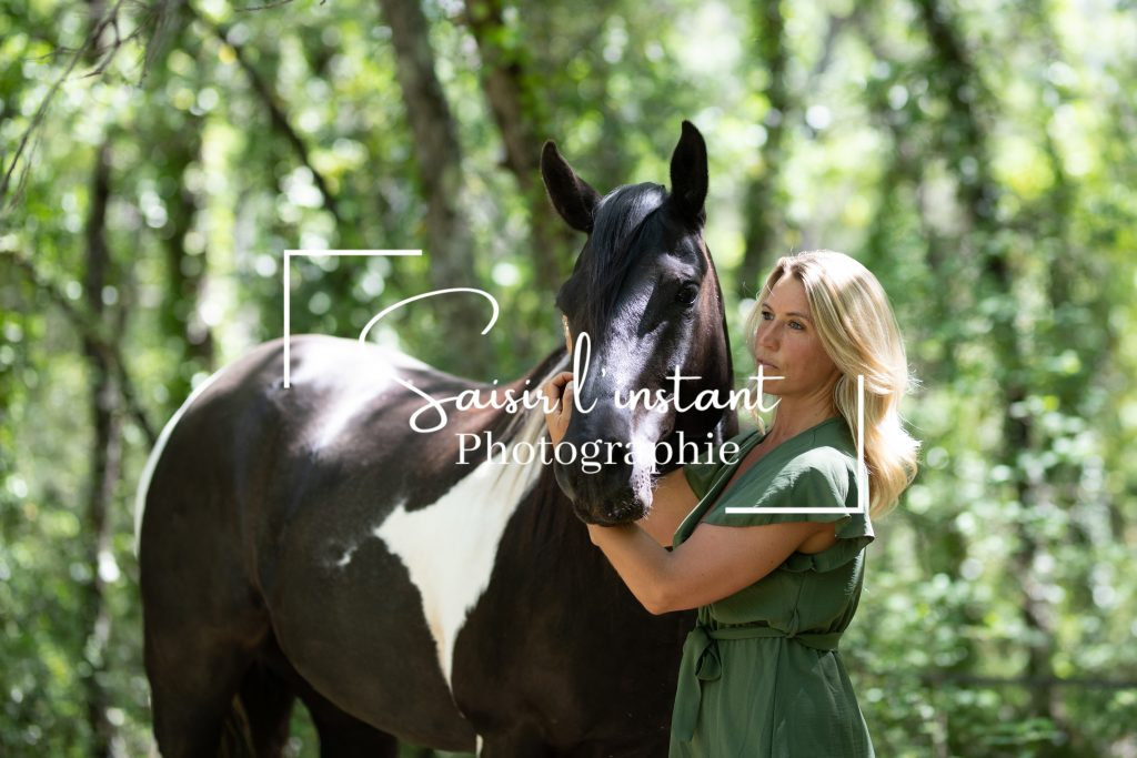 galeries clients de la séance photo de Charlotte et son cheval
